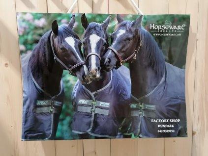 Dárková papírová taška HORSEWARE, střední