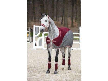 Deka odpocovací Fashion Hybrid Horseware, redwood