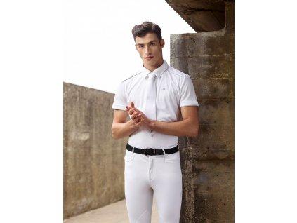 Košile závodní AA Platinum, pánská, bílá
