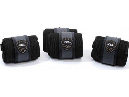 Multifunkční bandáže 4ks AA Platinum, černé