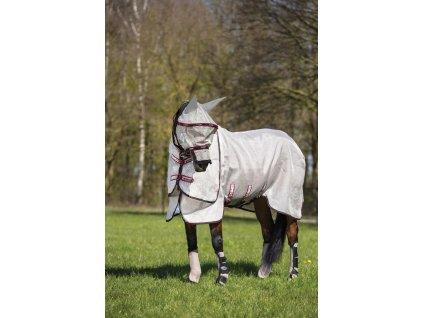 Maska proti hmyzu Rambo Plus Vamoose, oatmeal/black/burgundy