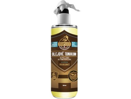 Tonikum olejové - repelent pro koně, 250 ml
