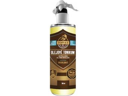 Tonikum olejové - repelent pro koně, 500 ml
