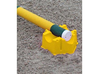 Stojan plastový Waldhausen, yellow