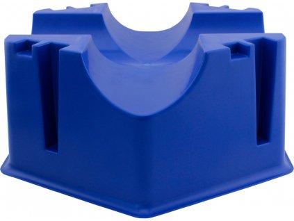 Stojan plastový na kavalety Waldhausen, blue