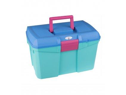 Box na čištění a úpravu hřívy Waldhausen, light blue/mint