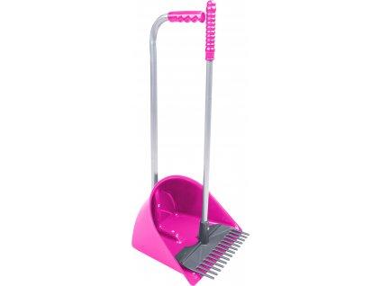 Lopatka s hrabičkami Mini Mistboy Waldhausen, pink