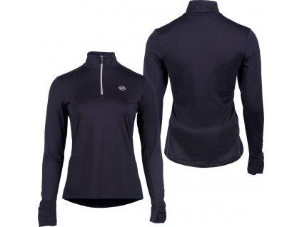 Termo triko QHP, dámské, černé