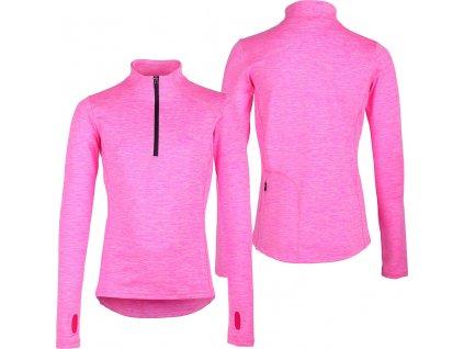 Triko multifunkční Kristy QHP, dětské, neon pink