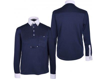 Košile závodní Roald QHP, pánská, navy
