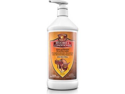 LEATHER THERAPY restorer pro renovaci staré kůže ABSORBINE, 473 ml