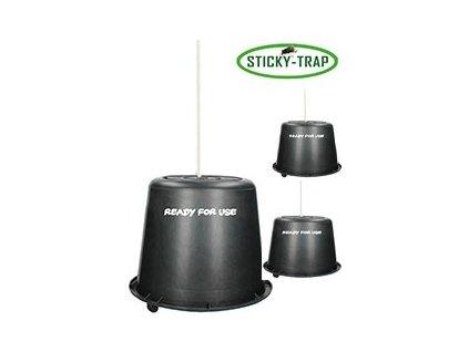 Kyblík 3ks Sticky Trap, černý
