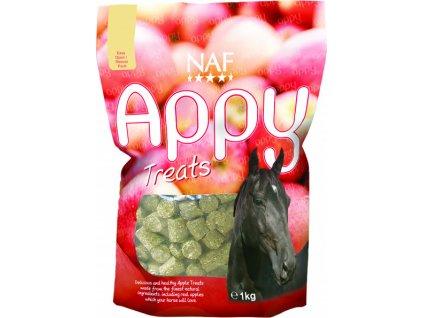 Pamlsky pro koně Appy Treats, 1kg, jablečné