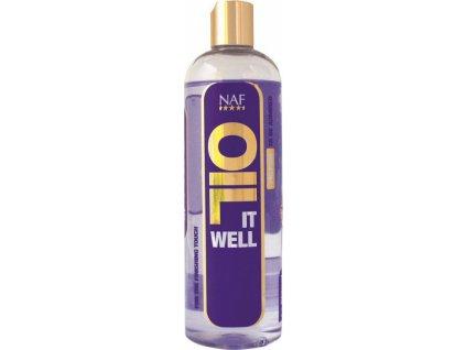 Oil it well rozjasní ta nejdůležitější místa na srsti NAF, 500ml