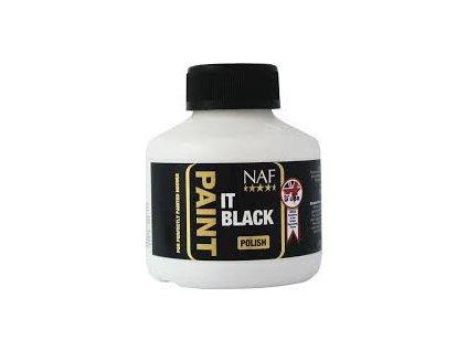 Paint it - černý a bezbarvý  lak na kopyta NAF