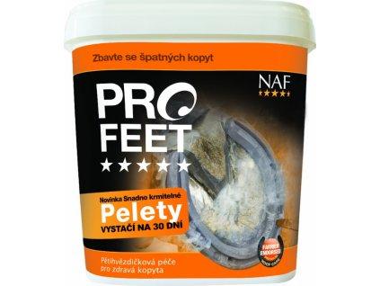 PRO FEET pro zdravá kopyta s biotinem NAF, pelety, 3 kg