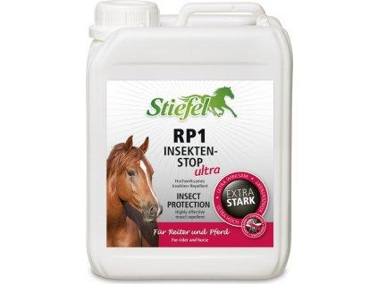 Repelent RP1 STIEFEL Ultra ekonomické balení - Ultrasilný sprej pro koně a jezdce STIEFEL, kanystr 2,5 l