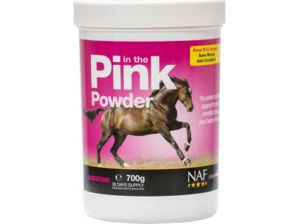 In the Pink powder, probiotika s vitamíny pro skvělou kondici NAF, kyblík 700g