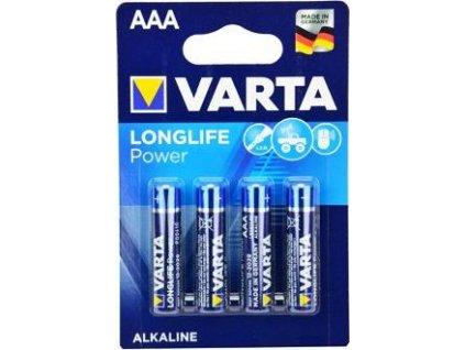 Baterie VARTA Longlife Power, AAA, 4ks