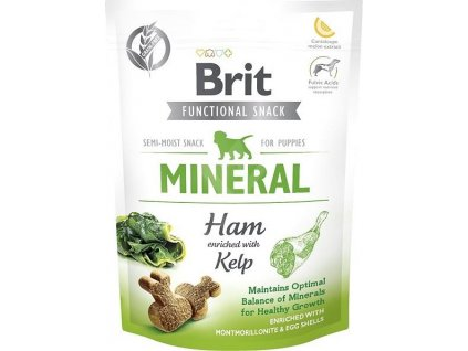 Brit Care Dog Functional Snack Mineral Ham Puppies, 150g