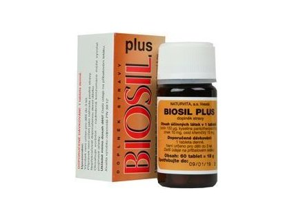 Biosil Plus na vlasy, nehty a pleť 60tbl
