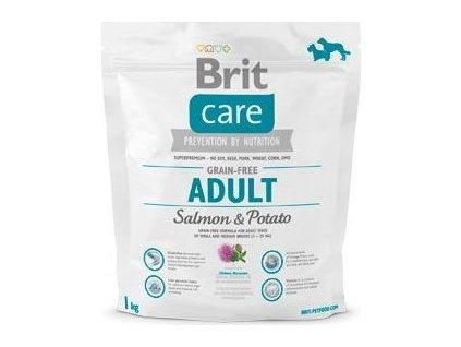 Granule Brit Care Dog Grain-free Adult Salmon & Potato, 1kg