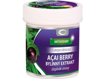 Bylinný extrakt - Acai Berry, 60tob, TOPVET