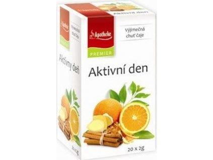 Čaj Apotheke, aktivní den, 20sacc