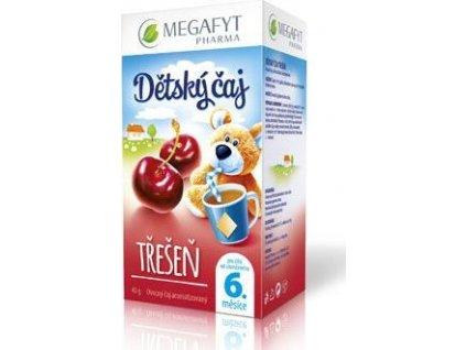 Čaj ovocný Megafyt, dětský, třešeň, 20sacc