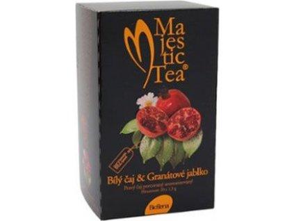 Čaj Majestic Tea Bílý čaj+Granátové jablko, 20sacc