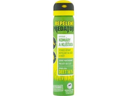 Repelentní sprej PREDATOR 16%DEET, 90ml