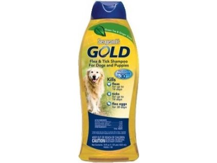 Šampon antiparazitní Sergeanťs Gold 532ml, pes