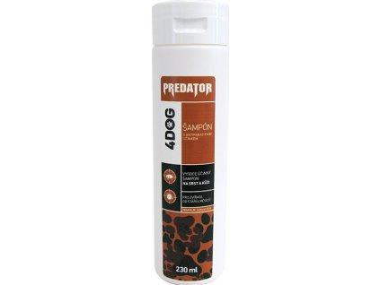 Šampon antiparazitní PREDATOR 4DOG 230ml, pes