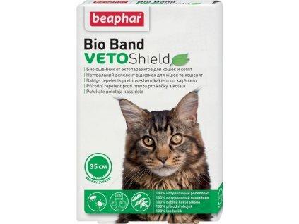 Obojek antiparazitní Beaphar Bio Band VetoSh 35cm, kočka