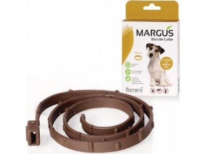 Obojek antiparazitární Margus Biocide S,M-55cm, pes