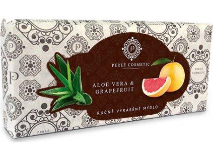 Mýdlo - Aloe vera a grapefruit Perlé Cosmetic, 115g