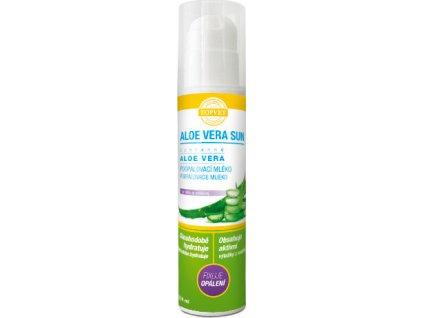 Mléko po opalování - Aloe vera 200ml, TOPVET