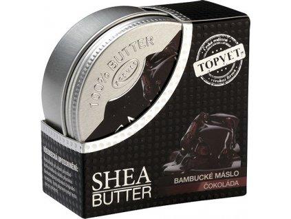 Bambucké máslo - Čokoláda 100ml, TOPVET