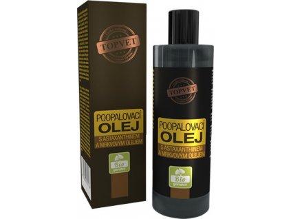 Olej po opalování s astax. a mrkvovým olejem 100ml, TOPVET