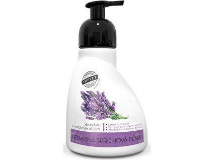 Sprchová pěna - Levandule s mandlovým olejem Perlé Cosmetic 300ml