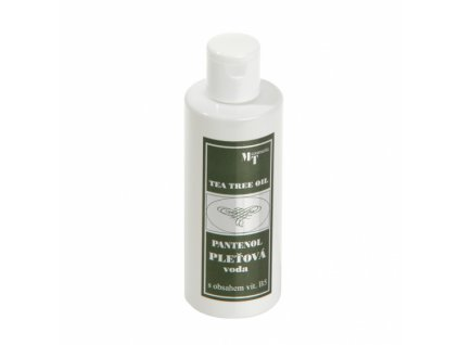 Pleťová voda - Tea Tree Oil s pantenolem, 200ml, TOPVET