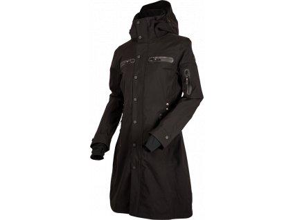 Kabát nepromokavý Mid Trench UHIP, dámský, černý