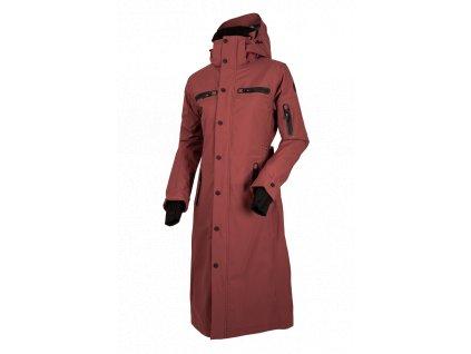 Kabát nepromokavý Long Trench UHIP, dámský, apple butter rust