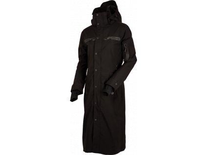 Kabát nepromokavý Long Trench UHIP, dámský, černý