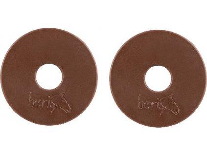 Kroužky gumové na udidlo 75mm BERIS, pár