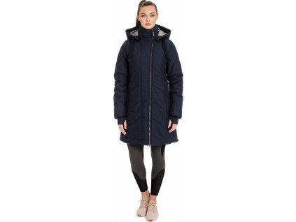 Kabát Long Line Horseware, 100% recyklovaný, dámský, navy