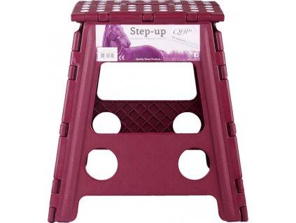 Stolička na nasedání QHP, burgundy