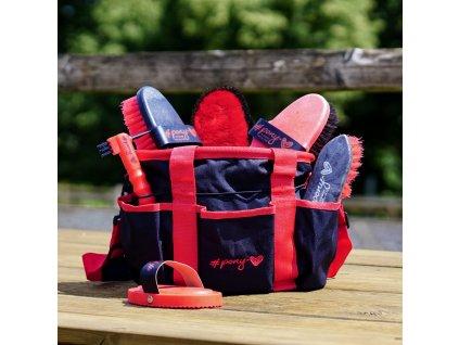 Taška na čištění #ponylove Lia & Alfi, black/red