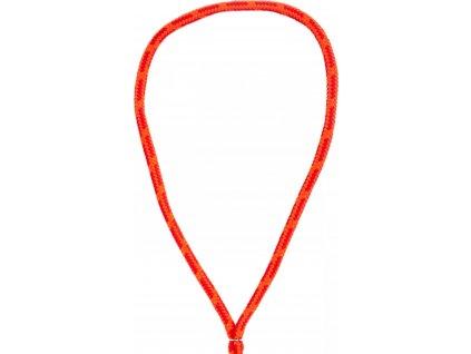 Nákrčník měkký kruhový USG, orange/red figured