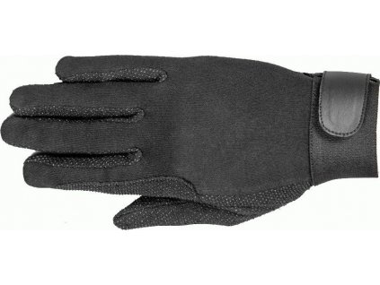 Rukavice jezdecké bavlněné Classic 2.0 RSL, černé